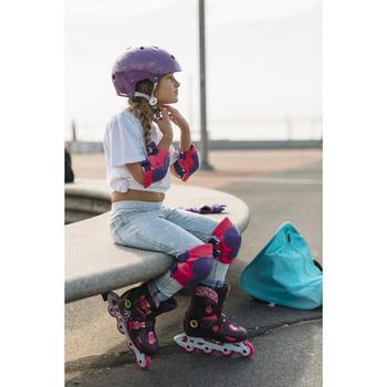Helm voor skeeleren, skateboarden, steppen Play 5 paars