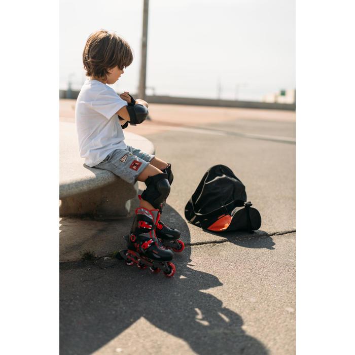 Inline Skates Inliner Play 5 Kinder schwarz/rot