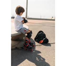 Patines Patinaje En Línea Oxelo Play 5 Niños Rojo/Negro
