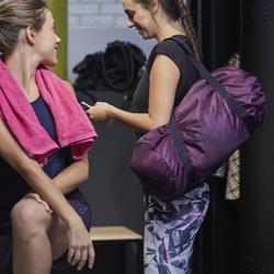 Sporttasche Fitness faltbar 30l rosa