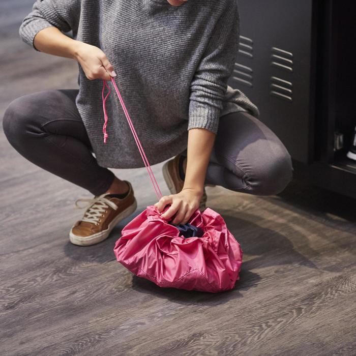 Bolsa para guardar ropa húmeda Domyos Ptwo esterilla pies rosa