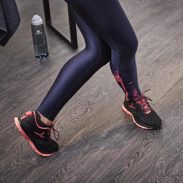 Chaussures fitness cardio-training 500 femme noir et - 1264584