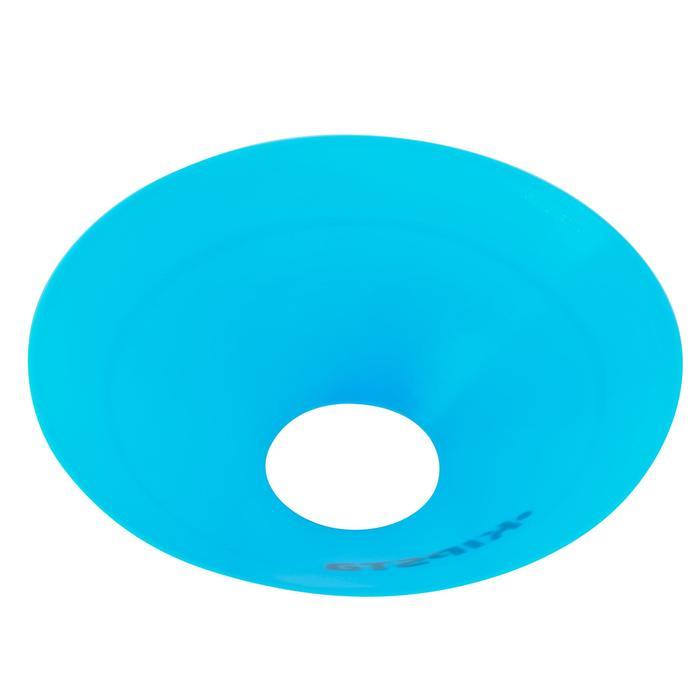 Set de 40 disques plats (10 bleus, 10 blancs, 10 rouges, 10 jaunes) - 126462