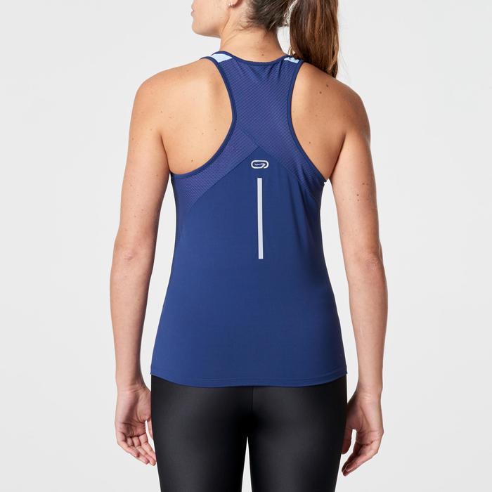 Damestop hardlopen Run Dry+ marineblauw