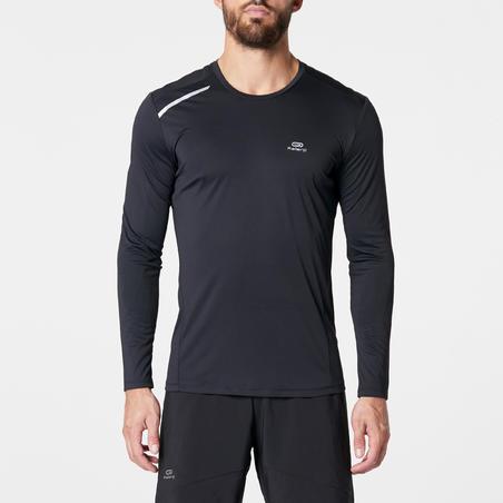 Sun Protect Men's Running Shirt - Black