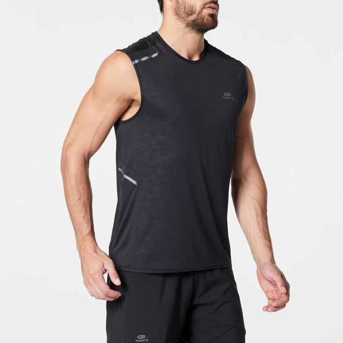 RUN DRY+ MEN'S RUNNING TANK TOP BLACK