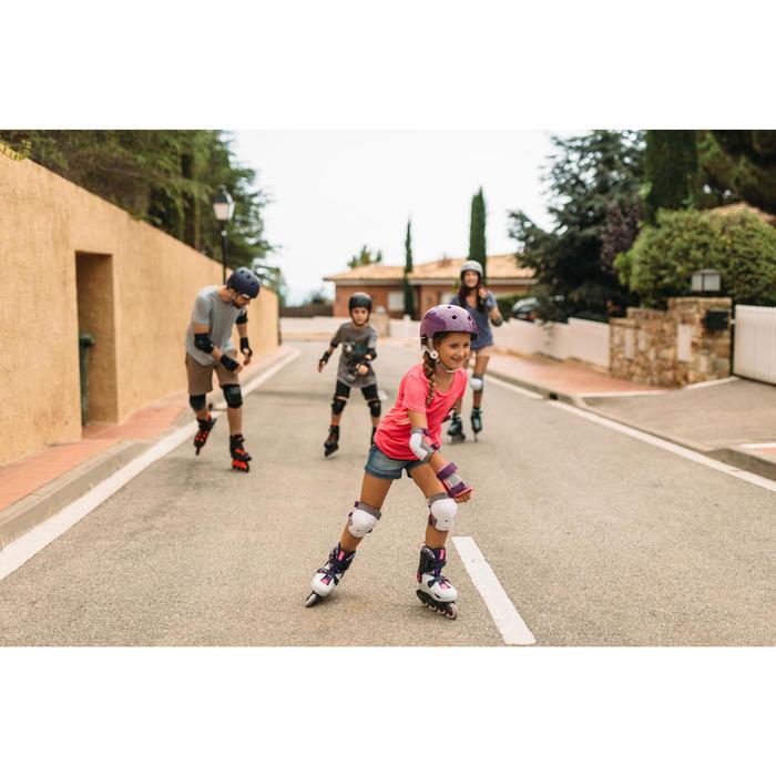 Inline Skates Inliner Play 5 Kinder hellgrau