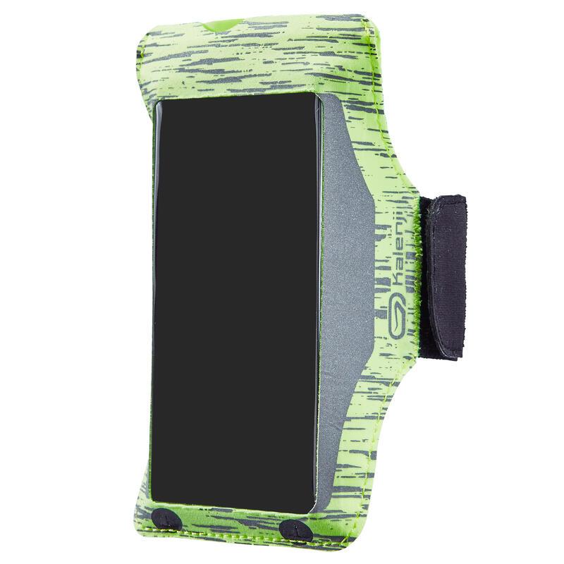 สายรัดแขนใส่สมาร์ทโฟนสำหรับวิ่งรุ่น Bynight (สีเหลือง)