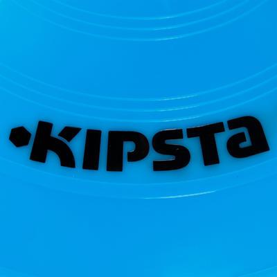 Set de 40 disques plats (10 bleus, 10 blancs, 10 rouges, 10 jaunes)
