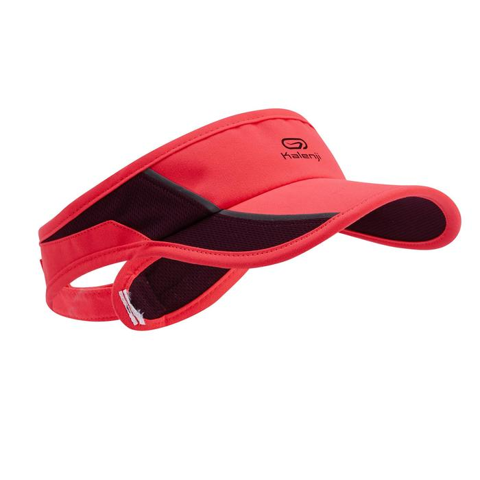 ADJUSTABLE RUNNING VISOR PINK 55-63 cm