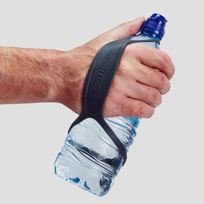 Handstrap voor drinkfles voor hardlopen grijs