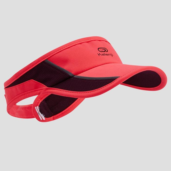 VISIERE RUNNING ROSE REGLABLE 55-63 cm