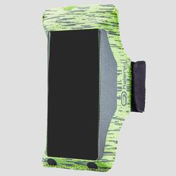 Smartphone armband voor hardlopen geel Bynight