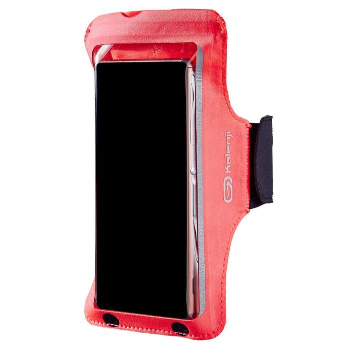 Sportarmband voor grote smartphone, hardlopen, roze