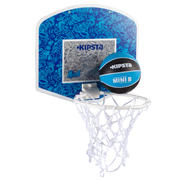 Mini B Kids Basketball Backboard Set - Blue