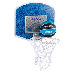 Mini B Kids Basketball Backboard Set - Blue