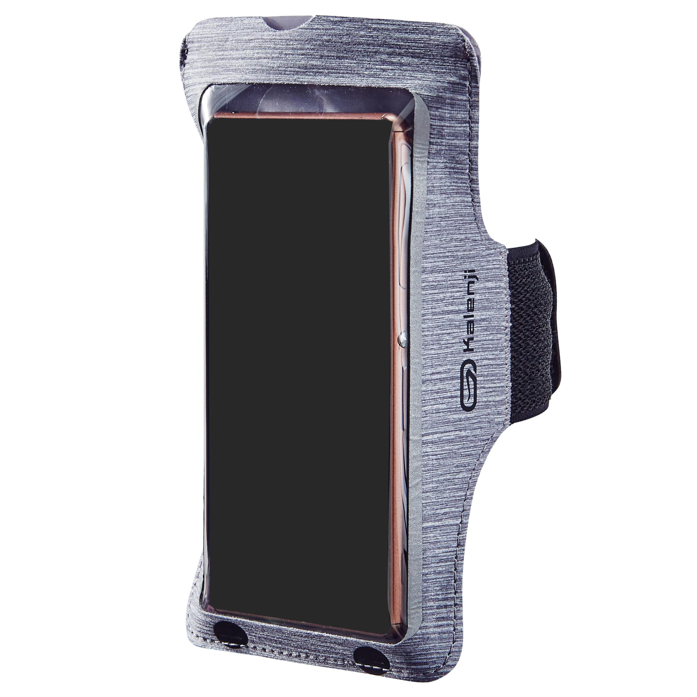 Kalenji Sportarmband voor grote smartphone, voor hardlopen, grijs kopen? Sport accessoires met voordeel vind je hier