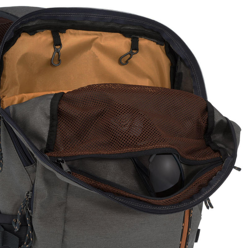 Hiking Backpack 20L (with Raincover) NH500 - Grey