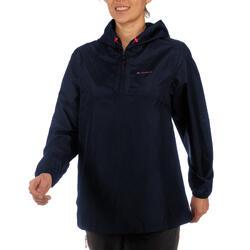 Women's Raincoat NH100 - Navy