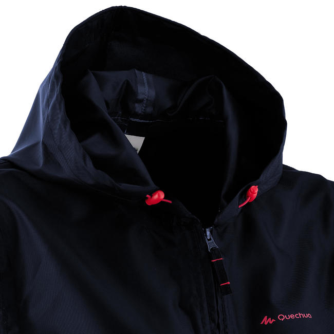 Women's Raincoat NH100 - Navy
