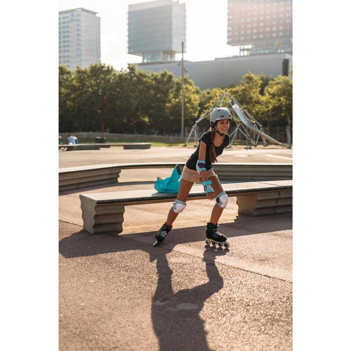 Casco Skate Patinete Patinaje Oxelo MF540 Niños|Adultos Gris