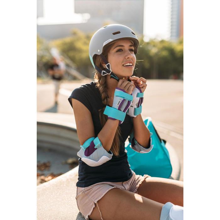 Helm MF 540 voor skeeleren, skateboarden, steppen mint - 1265106