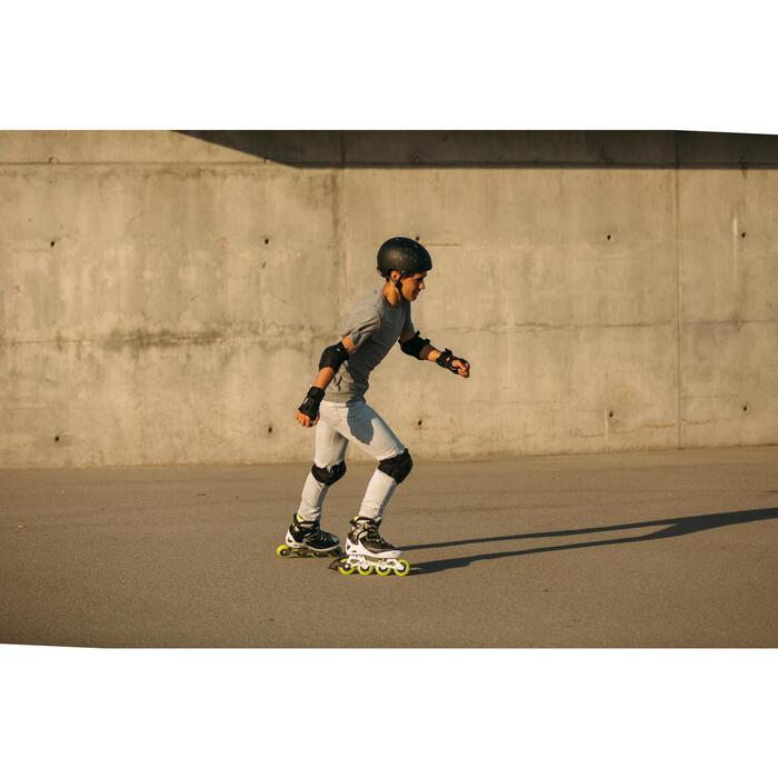 Patines en línea Fitness Fit 5 Niños Negro/Amarillo
