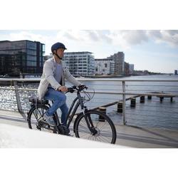 E-Bike City Bike 28 Zoll Elops 940E LF Damen Shimano Steps E6000 grau