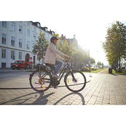"E-Bike City Bike 28"" Elops 940E LF Damen Shimano Steps E6000 grau"