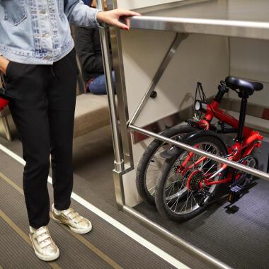 如何正確地把摺合式單車摺合?