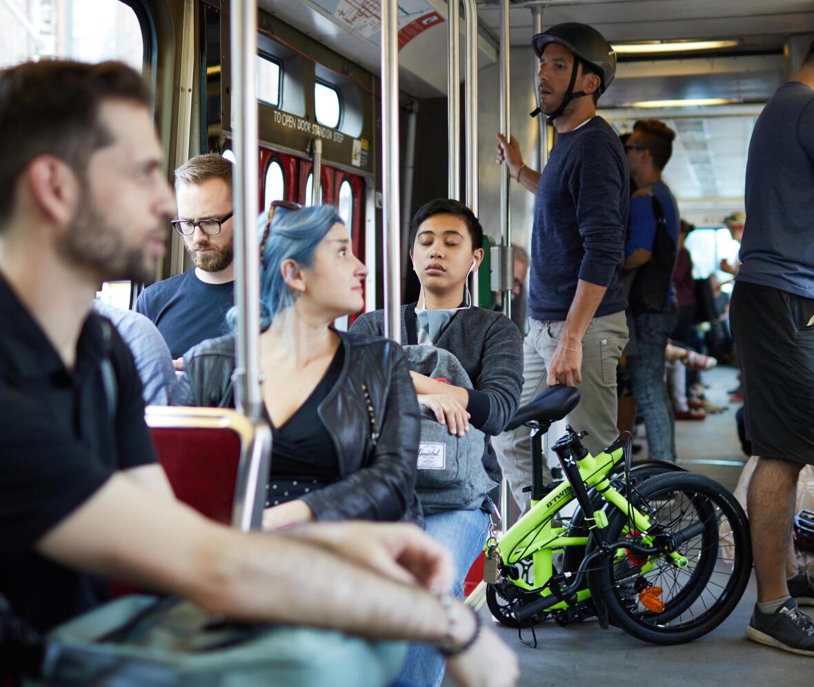 vélo-pliant-transport-en-commun