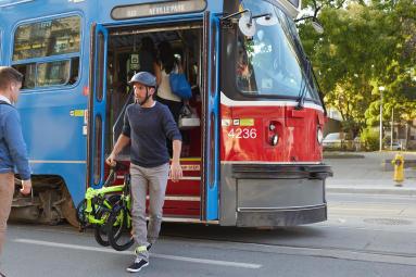 velo pliant bus