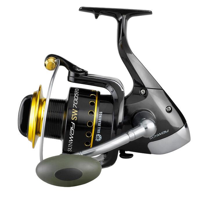 Carrete pesca en el mar SUNWAY SW 8005 FD