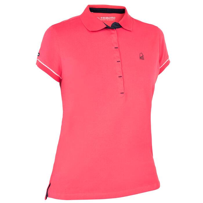 Polo 100 Zeilen voor dames, roze