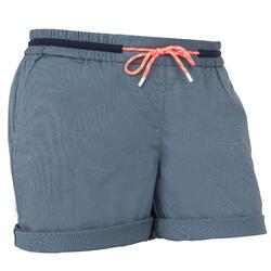Pantaloncini vela donna SAILING 100 grigi