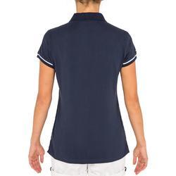 Polo Manches courtes femme SAILING 100 Bleu