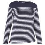 Tribord Shirt met lange mouwen 100 voor dames, blauw