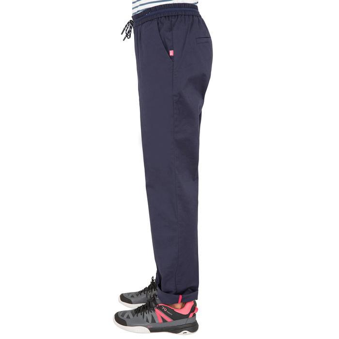 Pantalon Voile aventure 100 Femme Bleu foncé