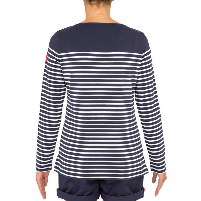 T-Shirt Manches longues de voile femme SAILING 100 Bleu