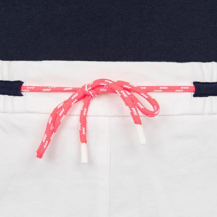 Short robuste de voile femme SAILING 100 Blanc