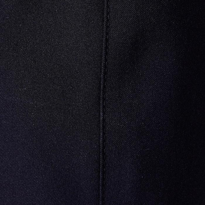 Pantalón corto de fútbol adulto F500 negro y amarillo