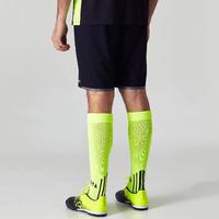 Short de soccer adulte F500 noir et jaune