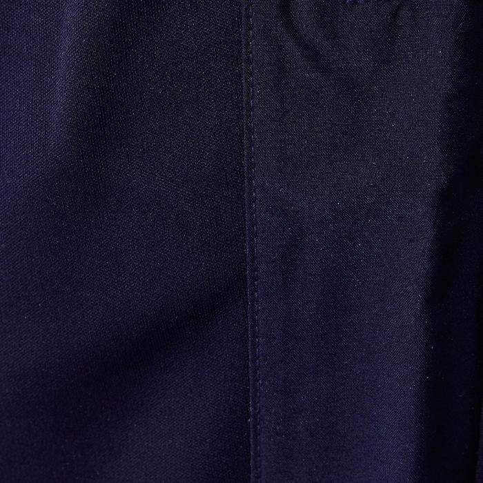 Short largo de fútbol adulto T500 azul marino