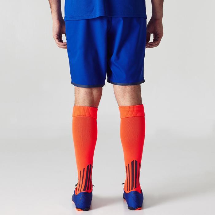 Voetbalshort voor volwassenen F500 blauw