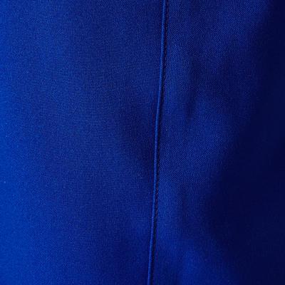 Short de football adulte F500 bleu orange