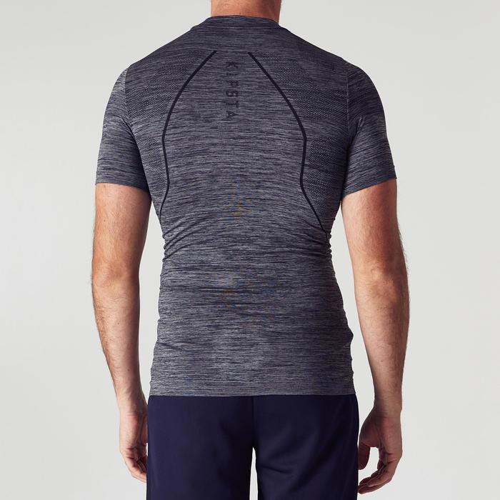 Sous-vêtement adulte Keepdry 500 gris chiné foncé