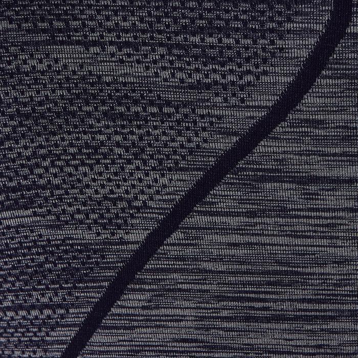 Funktionsshirt kurzarm Keepdry 500 Erwachsene dunkelgrau meliert