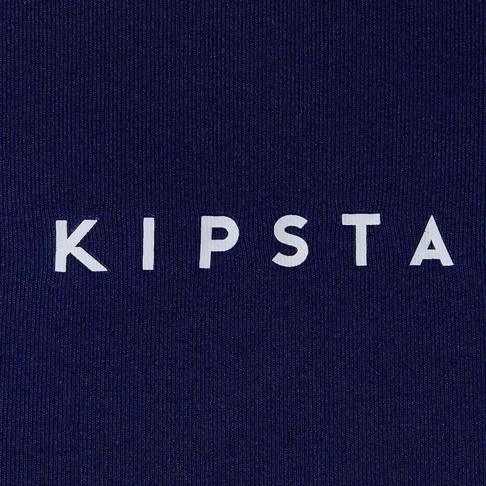 Thermoshirt Keepdry 100 korte mouwen blauw