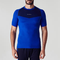 Keepdry 100 Adult Short-Sleeved Soccer Base Layer - Blue