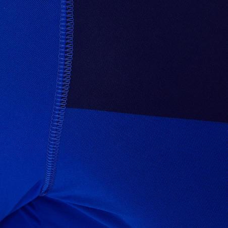 Playera térmica transpirable manga corta adulto Keepdry 100 azul